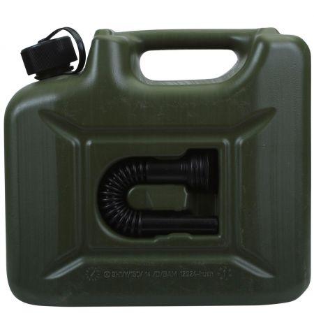 Kanystr na pohonné hmoty benzín naftu 10l - Army
