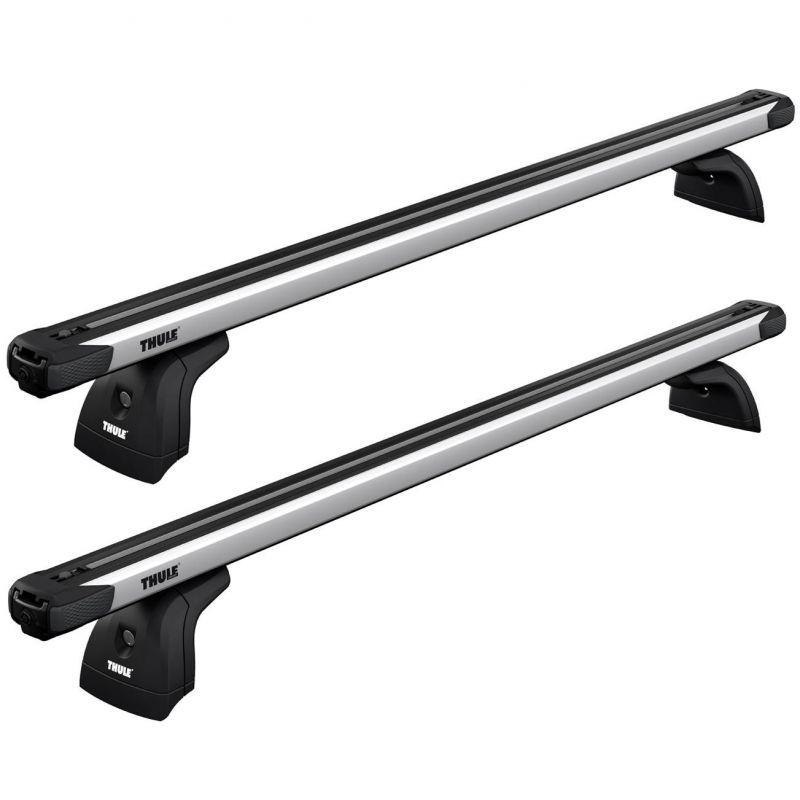 Střešní nosič / příčníky Thule SlideBar - Peugeot 407 SW Combi 5-dv (04-10) - střešní podélníky / ha