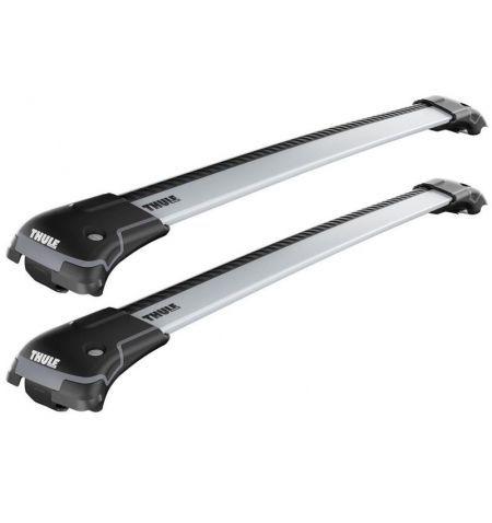 Střešní nosič příčníky Thule WingBar Edge Silver - Škoda Praktik Combi 5-dv 07-15 - střešní podélníky hagusy