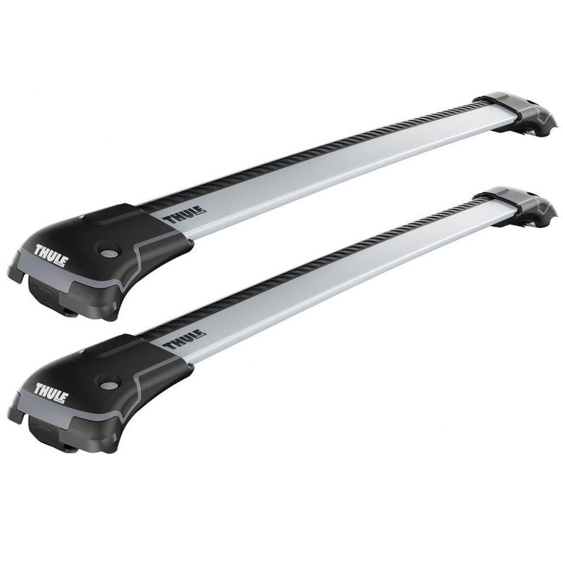 Střešní nosič / příčníky Thule WingBar Edge Silver - Škoda Roomster MPV 5-dv (06-15) - střešní podélníky / hagusy