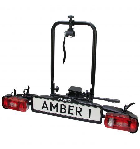 Nosič na tažné zařízení na 1 kolo / elektrokolo Pro User Amber 1 sklopný