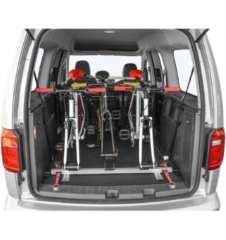 Nosič na 3 jízdní kola do interiéru vozidla dovnitř do auta Menabo Pro Tour Indoor