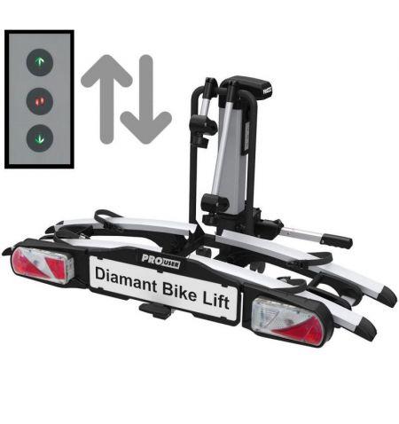 Nosič na tažné zařízení na 2 kola Pro User Diamant Bike Lift - sklopný skládací s elektrickým výtahem