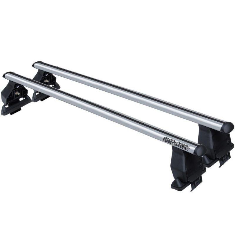 Střešní nosič příčníky Menabo Tema - Fiat Croma 5-dv 07-10 - normální střecha aluminium nezamykací