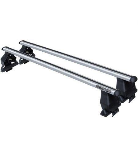 Střešní nosič příčníky Menabo Tema - Fiat Stilo 01-10 - normální střecha aluminium nezamykací