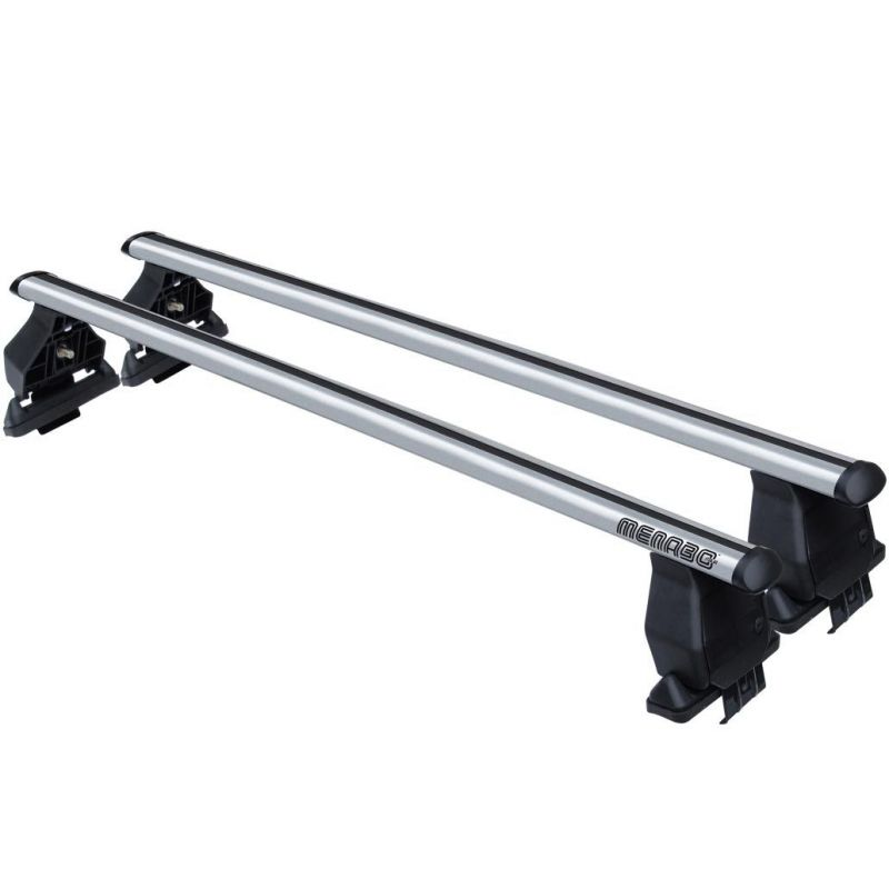 Střešní nosič příčníky Menabo Tema - Kia Ceed EU 5-dv 15- - normální střecha aluminium nezamykací