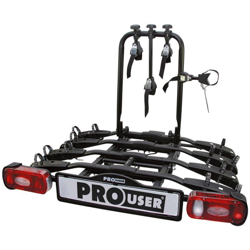 Nosič na tažné zařízení na 4 kola Pro User Amber 4 - sklopný