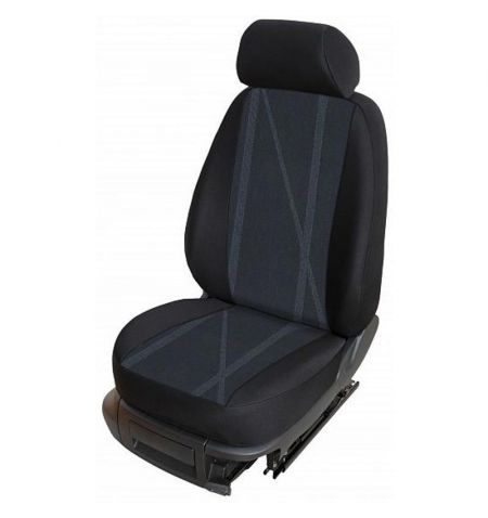 Autopotahy přesné potahy na sedadla Škoda 105 120 125 130 76-87 - design Torino C výroba ČR