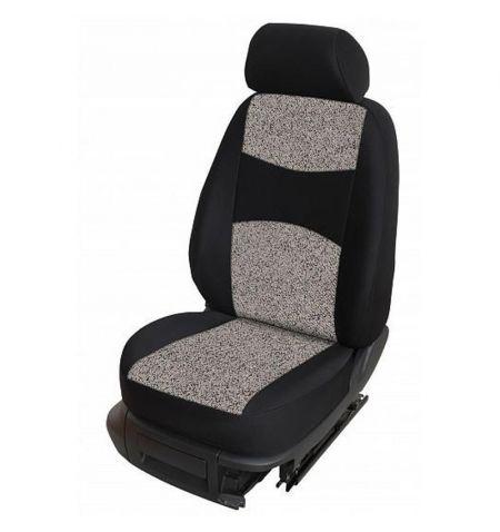 Autopotahy přesné potahy na sedadla Škoda 105 120 125 130 76-87 - design Milano B výroba ČR