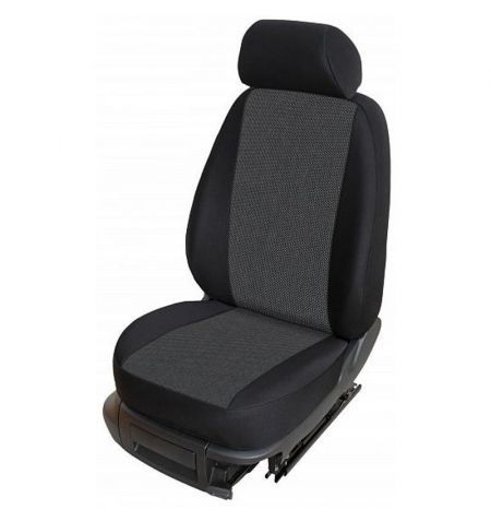Autopotahy přesné potahy na sedadla Škoda Fabia I Sedan Hatchback Combi 99-01 - design Torino F výroba ČR