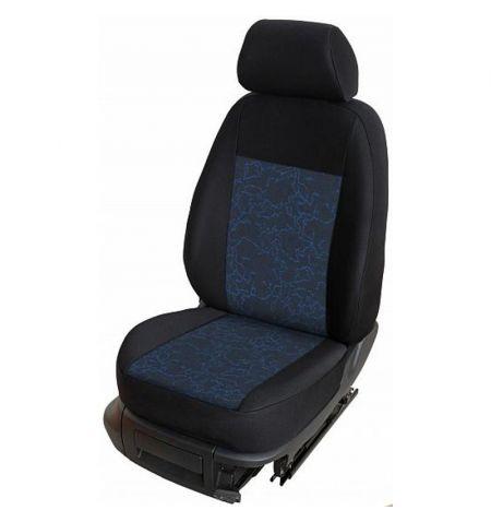 Autopotahy přesné potahy na sedadla Chevrolet Aveo 11- - design Prato A výroba ČR