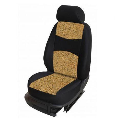 Autopotahy přesné potahy na sedadla Chevrolet Aveo 11- - design Milano A výroba ČR