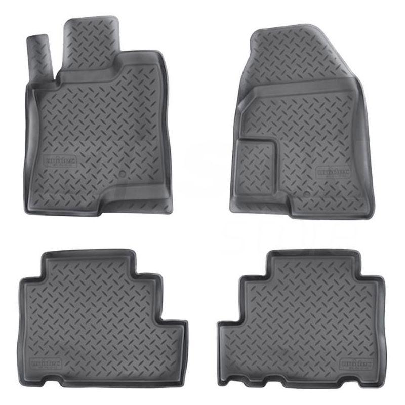 Autokoberce 3D gumové přesné - Chevrolet Captiva (2006-2012)