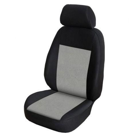 Autopotahy přesné na sedadla Opel Vivaro B 2014-2019 sedadla 1-2 prostřední integrovaná hlavová opěrka - design Prato H