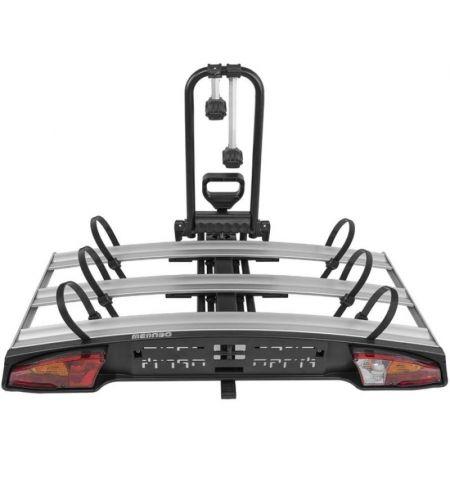 Nosič na tažné zařízení na 3 kola elektrokola Fatbike Menabo Alcor 3 - sklopný s pedálem