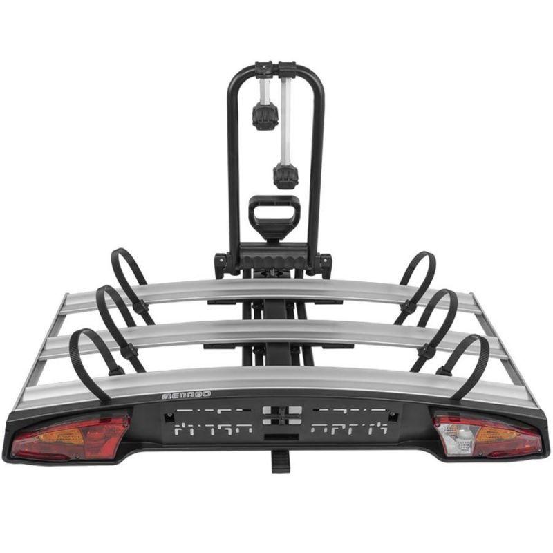 Nosič na tažné zařízení na 3 kola / elektrokola / Fatbike Menabo Alcor 3 - sklopný