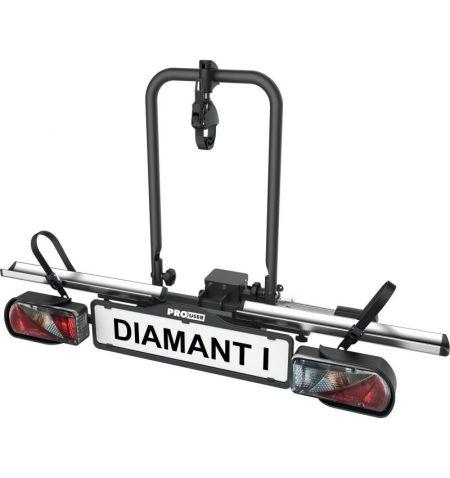 Nosič na tažné zařízení na 1 kolo elektrokolo Pro User Diamant 1 - sklopný