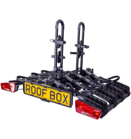 Nosič na tažné zařízení na 4 kola elektrokola Buzz Rack Eazzy 4 - sklopný skládací