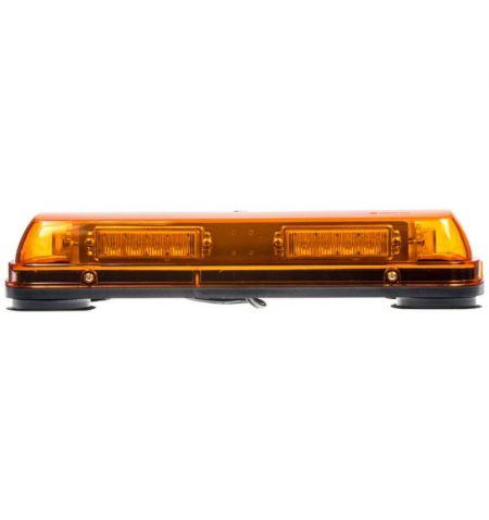 Rampa světelná LED diodová - oranžová 12V 24x 1W LED šířka 44cm magnetické uchycení ECE R10