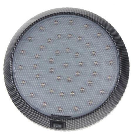 Světlo LED diodové interiérové Carbon 12V 46x LED s vypínačem
