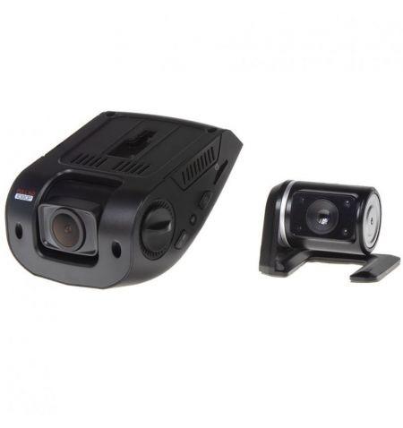 Kamera dvojitá záznamová HD přední LCD displej 2.4 palců zadní kamera české menu