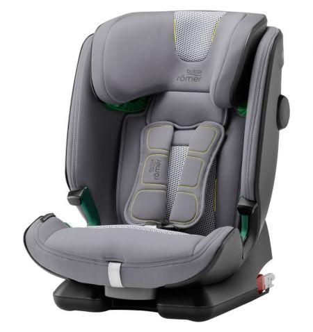 Dětská autosedačka Britax Römer Advansafix i-Size Cool Flow - Silver 9-36kg věk od 15 měsíců do 12 let