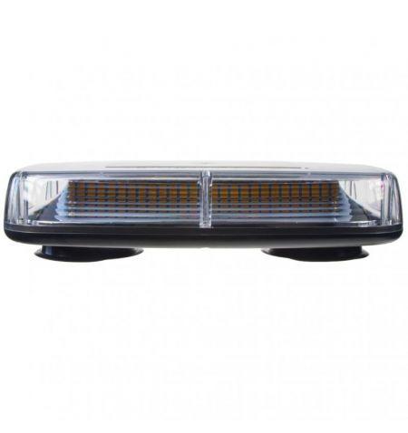 Rampa světelná LED diodová - oranžová 12V 24V 72x SMD LED šířka 28cm magnetické uchycení ECE R65