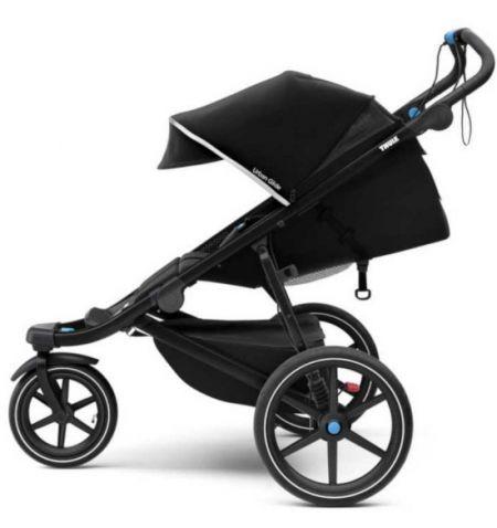 Dětský kočárek Thule Urban Glide 2 Black on Black 2020 - do města do terénu skládací
