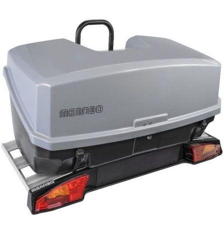 Nosič na tažné zařízení na 3 kola elektrokola s boxem 300l na zavazadla Menabo Alcor 3 Mizar