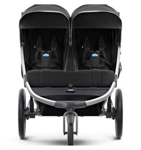 Dětský kočárek Thule Urban Glide 2 Double Jet Black 2021 - do města do terénu skládací