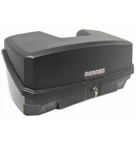 Zadní box na nosič na tažné zařízení Menabo Nekkar - objem 300l uzamykací černošedý