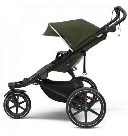 Dětský kočárek Thule Urban Glide 2 Black Cypress Green 2021 - do města do terénu skládací