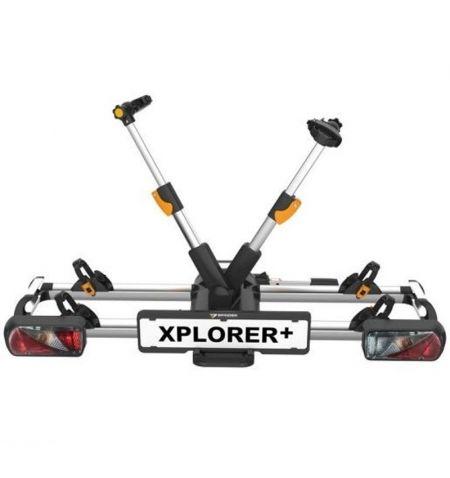 Nosič na tažné zařízení na 2 kola elektrokola Spinder Xplorer Plus - sklopný skládací na karbonové rámy model 2021