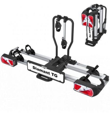 Nosič na tažné zařízení na 2 kola elektrokola Pro User Diamant TG - sklopný skládací