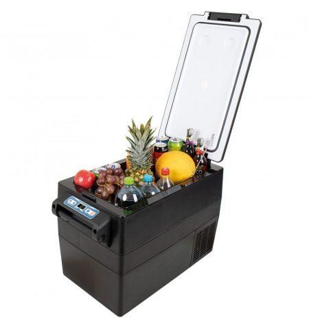 Autochladnička mraznička lednice kompresorová chladící box do auta Aroso 12V 24V 230V 42l -20C
