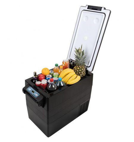 Autochladnička mraznička lednice kompresorová chladící box do auta Aroso 12V 24V 230V 52l -20C
