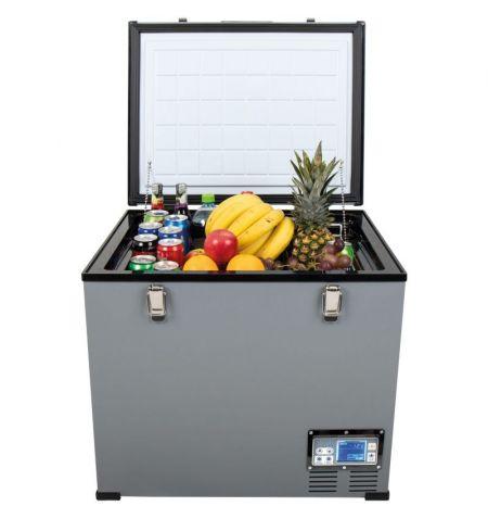 Autochladnička mraznička lednice kompresorová chladící box do auta Aroso 12V 24V 230V 60l -18C