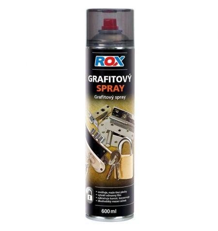 Grafitový olej sprej 600ml Rox
