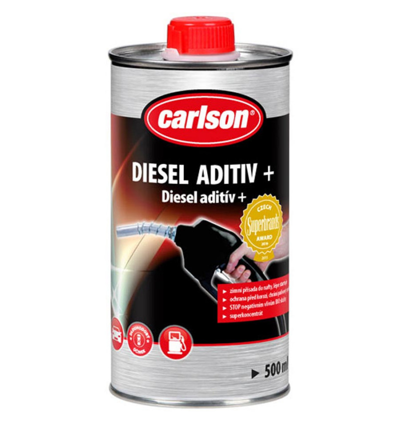 Diesel aditiv Plus do nafty Carlson 250ml