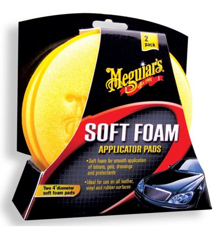 Meguiars Soft Foam Applicator Pad - Pěnové aplikátory 2ks