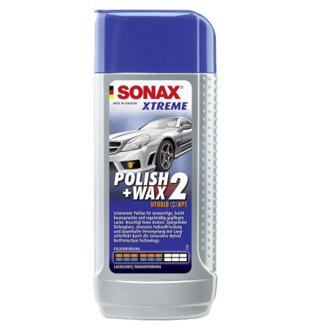 Sonax Xtreme Polish and Wax 2 Hybrid NPT 250ml