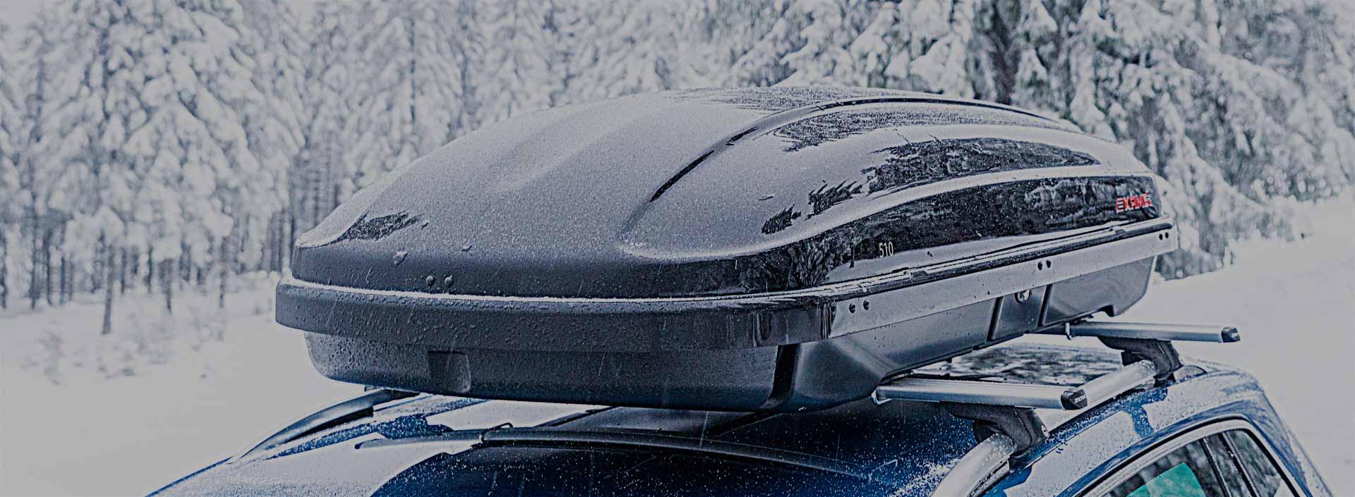 Zimní boxy na lyže