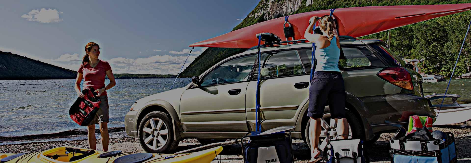 Nosiče lodí a paddleboardů