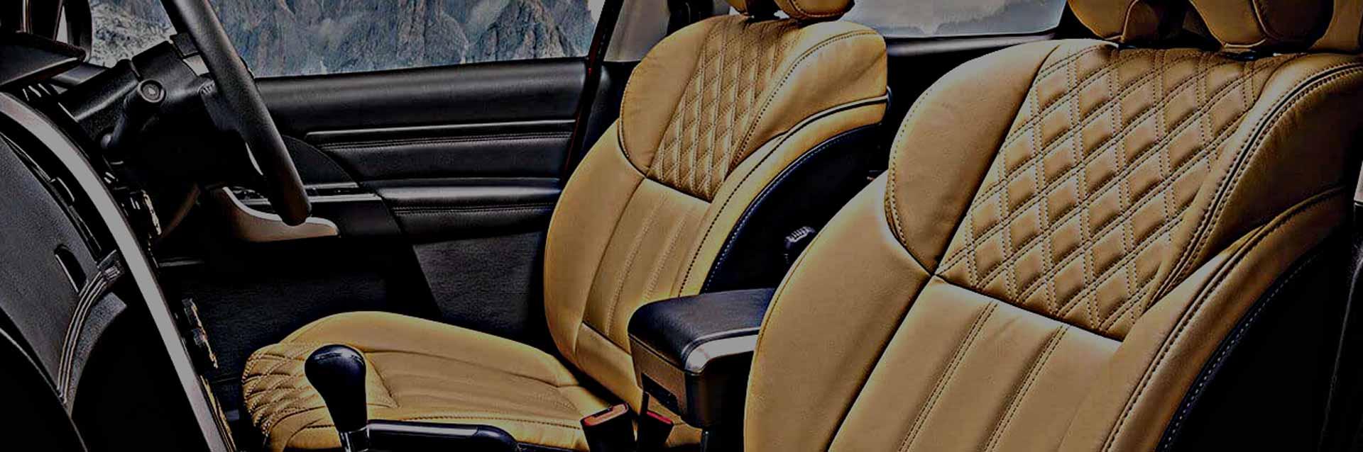 Potahy na přední sedadla