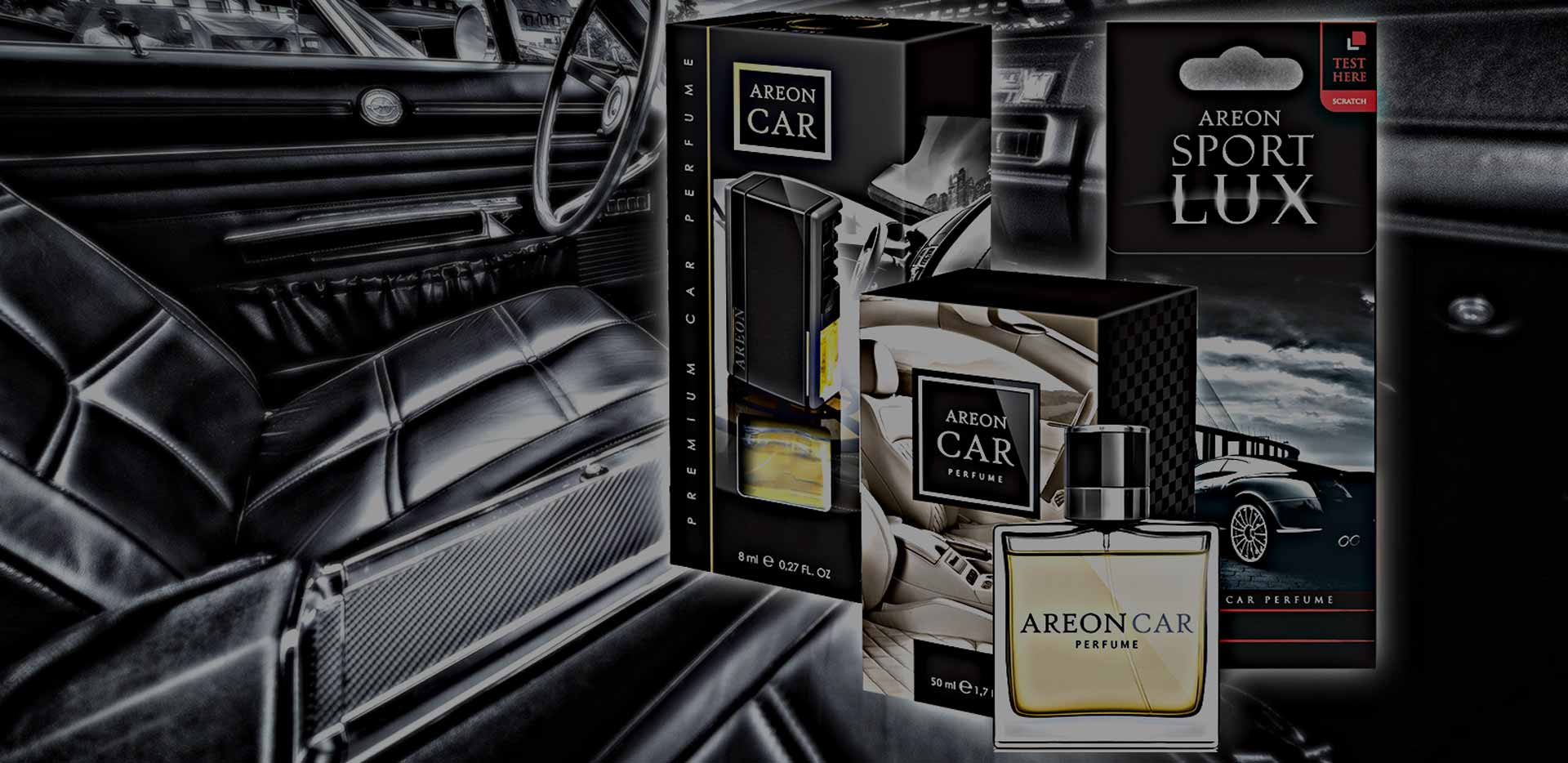 Parfémy do auta