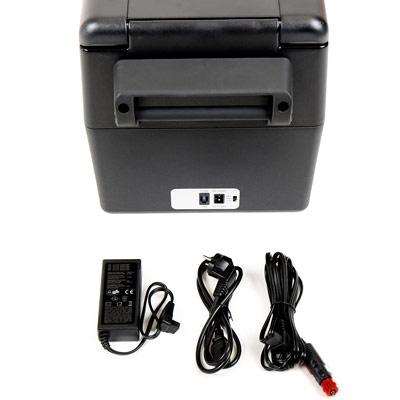 Autochladnička mraznička lednice kompresorová chladící box do auta Aroso 12V 24V 230V 32l - vícesystémové napájení