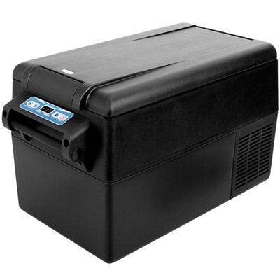 Autochladnička mraznička lednice kompresorová chladící box do auta Aroso 12V 24V 230V 32l - ochranné režimy