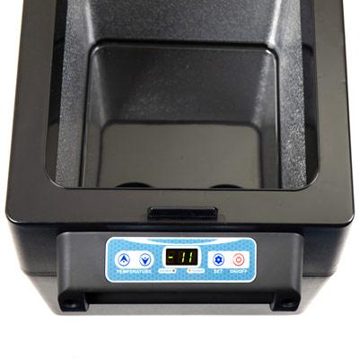 Autochladnička mraznička lednice kompresorová chladící box do auta Aroso 12V 24V 230V 32l - nízká proudová spotřeba