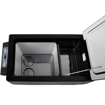 Autochladnička mraznička lednice kompresorová chladící box do auta Aroso 12V 24V 230V 42l - nízká proudová spotřeba