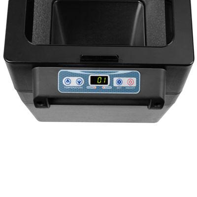 Autochladnička mraznička lednice kompresorová chladící box do auta Aroso 12V 24V 230V 42l - ochranné režimy